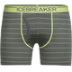 Icebreaker M's Anatomica Boxers with Fly metal/citron/stripe